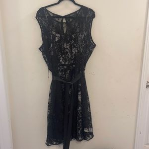 Addition Elle black lace dress Size: 24